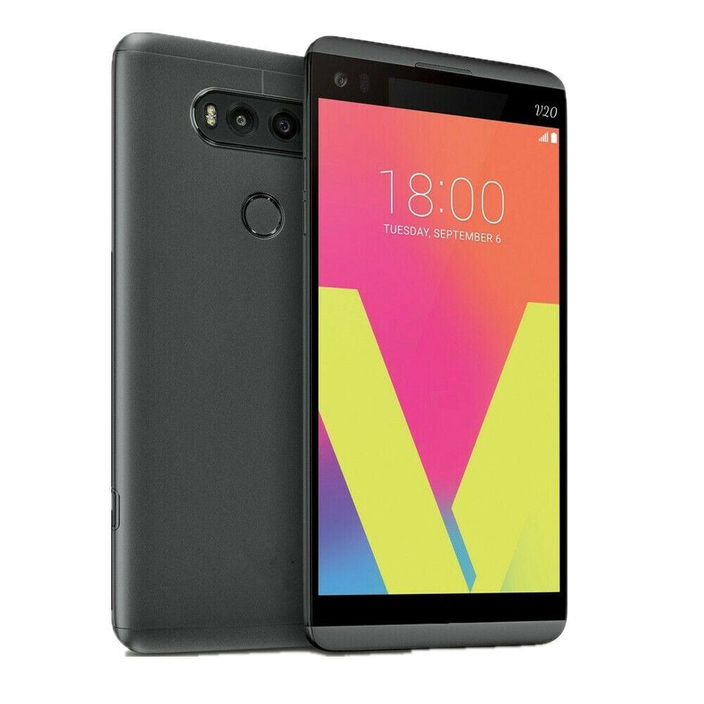 Android Phone - 5.7 in LG V20 Verizon VS995 Titan Grey GSM Unlocked 64GB Smartphone Android 4G