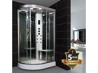 Insignia Offset Quadrant Hydro Massage Shower Enclosure 1200 x 800mm Now £1079
