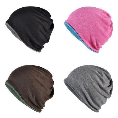 Hals Schal Hut Multifunktions Doppelte Farbe Mütze Herren Damen Übergroßer Hüte