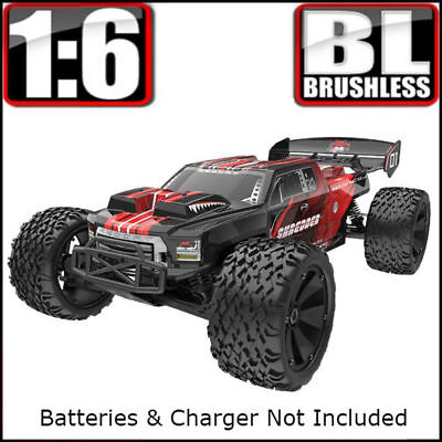 Redcat Racing Shredder 1/6 Scale Brushless Electric Monster Truck 4x4 1:6 rc car for sale  El Paso