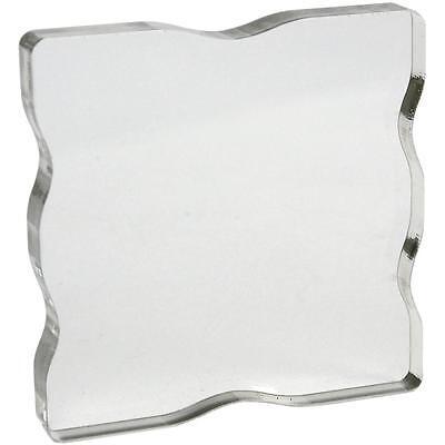 Apple Pie Clear Stamp Acrylic Block! 3x3 inch! w/Grips