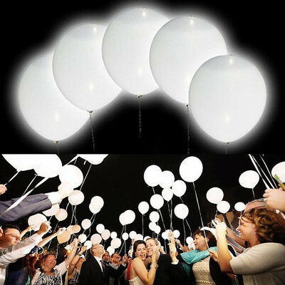 50Pcs Luminous LED Lamp Lantern Balloons Lights Wedding Party Event Decoration](Balloon Lanterns)