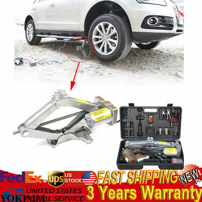 5 Ton Auto Electric Car Jack SUV Hydraulic Floor Lift Wireless Remote Control 5 Ton Aluminum Jack Stands