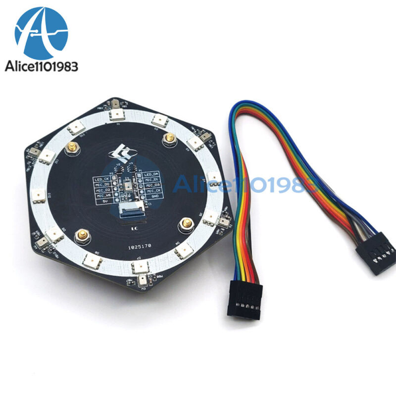 6+1 I2s Interface Microphone Voice Recognition Array K210 Development Board