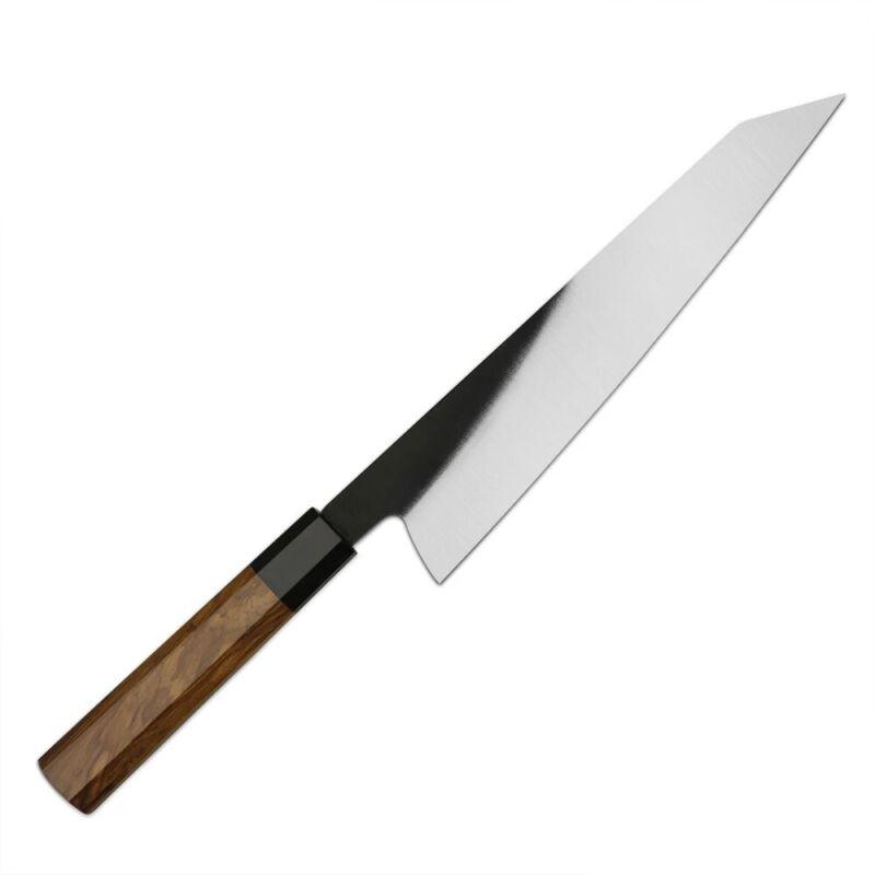 JAPANESE 9 INCH KIRITSUKE CHEF KITCHEN KNIFE OLIVE HANDLE SANTOKU