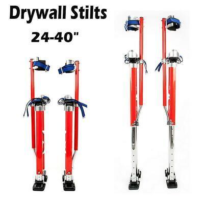 24-40 Adjustable Drywall Stilts Painters Walking Finishing Tools Red Us