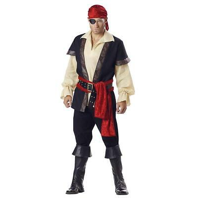 Mens Costume Designer Pirate Outfit Adult Halloween Party Theater M Medium Gift - Halloween Outfits Pirate