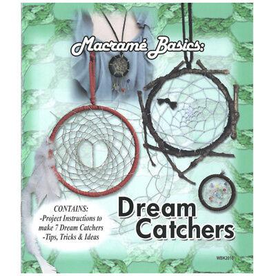 Macrame Basics Dream Catchers DIY Craft Book