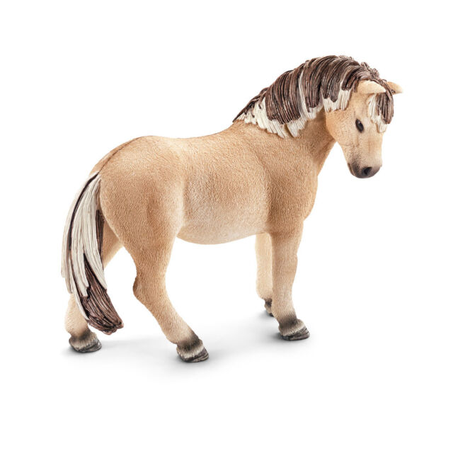Schleich 13754 Fjord Horse Mare - World Of Nature Farm Life - Horses / Brand New