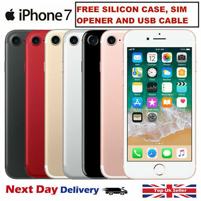 Apple iPhone 7 - 32GB - 256GB - Factory Unlocked Smartphone 12M WARRANTY