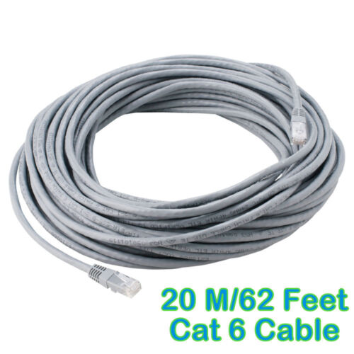 20m 62 feet meter lan cat6 rj45 connector cord cable ethernet patch available at ebay for. Black Bedroom Furniture Sets. Home Design Ideas
