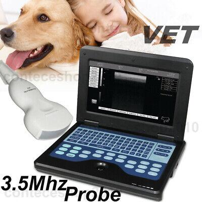Veterinary Laptop Ultrasound Machine Scanner 3.5mhz Convex Probe Vetanimals Usa