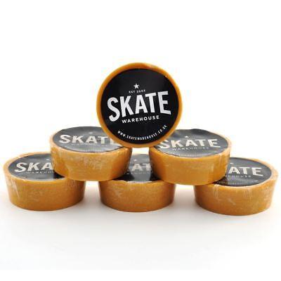 Skatewarehouse Skate Wax - Pocket Size Skateboard Wax + FREE Shipping & Sticker!