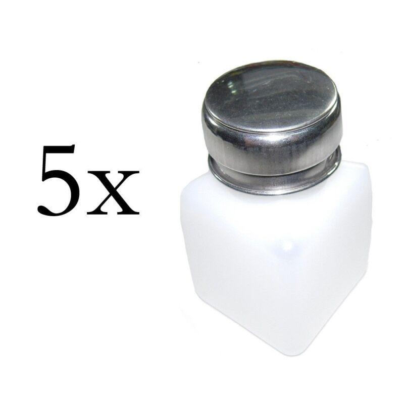 Lot of 5 pcs 100ml Liquid Push Alcohol Dispenser Solder Flux Bottle Cleaner