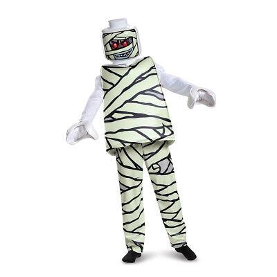 Kids LEGO Mummy Deluxe Halloween Costume - Lego Zombie Costume