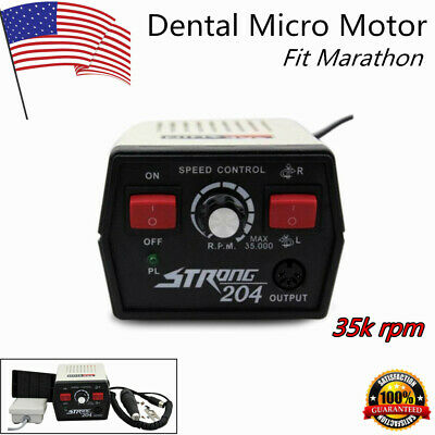 Dental Fit Marathon Micro Motor 35k Rpm Micro Motor Strong 204102lhandpiece