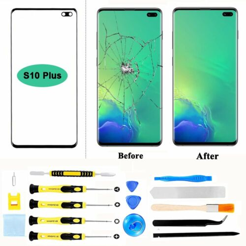 Replacement Touch Screen Glass+Repair Tools Kit For Samsung