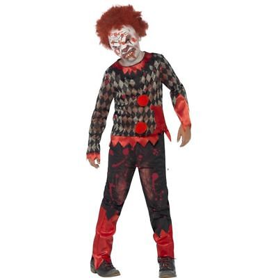 Clown Zombie Halloween (Smi - Halloween Kinder Kostüm Zombie Horror Clown)