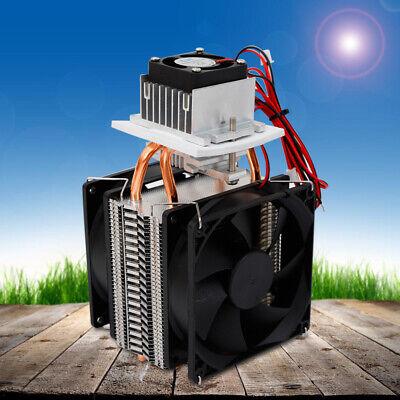 New 12v 72w Thermoelectric Peltier Cooler Refrigeration Fan System Heatsink