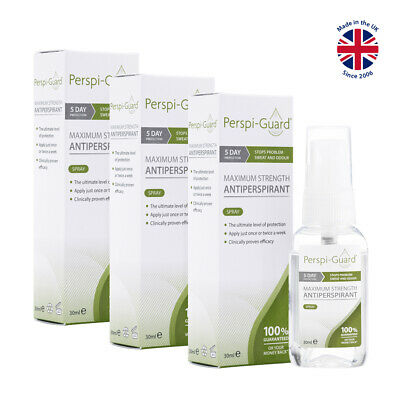 Perspi-Guard® Maximum Strength Antiperspirant Spray 30ml TRIPLE PACK