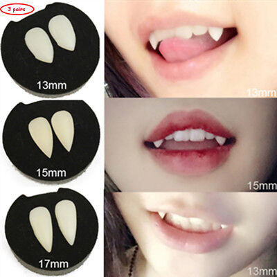 3 coppie vampiro denti zanne Halloween Costume puntelli Party Favors