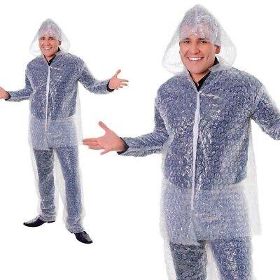 Luftpolsterfolie Kostüm Neuheit Unisex Lustiges Kostüm Outfit Erwachsene - Luftpolsterfolie Kostüm