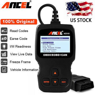 Ancel AD310 EOBD OBD2 Scanner Diagnostic Tool Car Check Engine Fault Code Reader