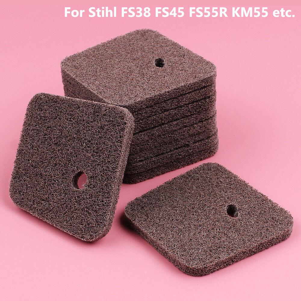 10Pcs 4140 124 2800 Air Fuel Filter For Stihl FS38 FS45 FS46 FS55 FS55R KM55 Home & Garden