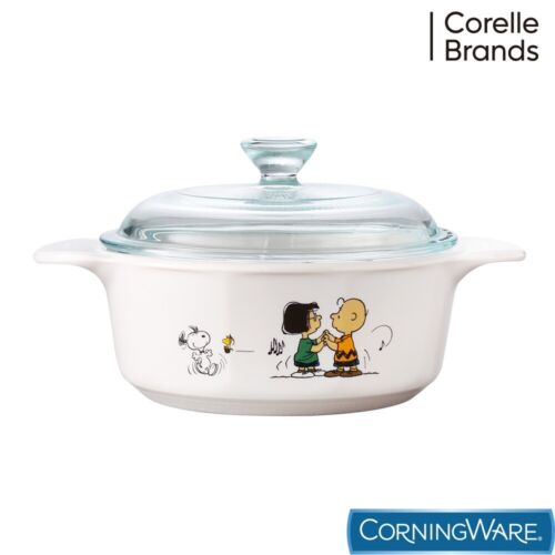 Limited Edition Corningware Peanuts Snoopy Covered Casserole  - Snoopy Cookware
