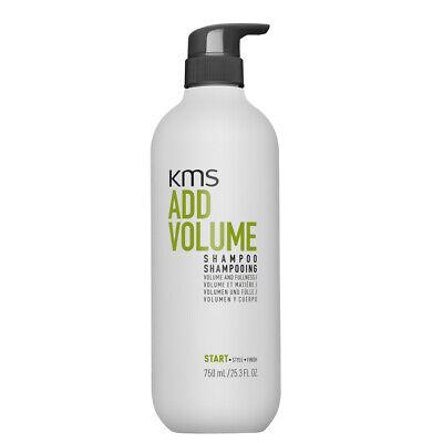 (38,65€/L) Kms Addvolume Shampoo 750ml für feines Haar