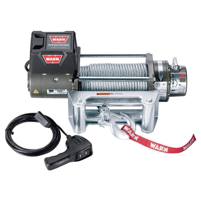 Electric Winch,4-4/5HP,12VDC 26502