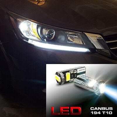 6000K LED Light Headlight Strip Bulbs 2013+ Fit Honda Accord 4dr Sedan 2dr Coupe