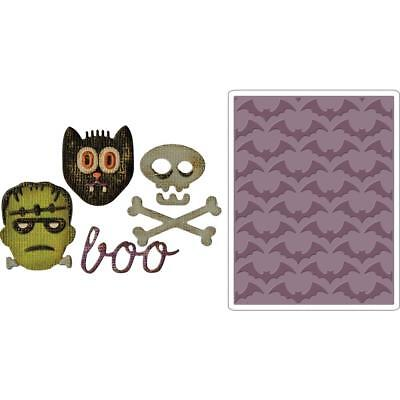 Halloween Side Items (Sizzix Tim Holtz Halloween Sidekick Side Order Set - Halloween Item)