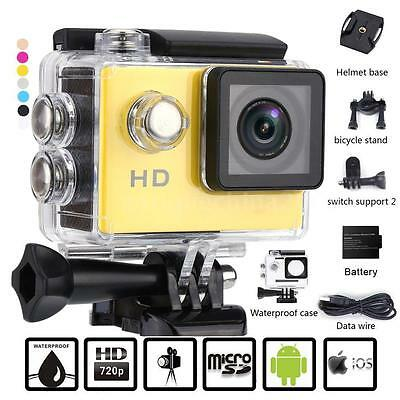 "2.0"" HD 720P Sports Action Camera Waterproof Car Mini DV Video Camera SJ4000"