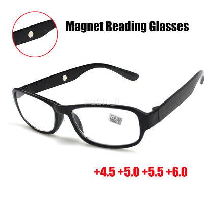 Reading Glasses +4.5 +5.0 +5.5 +6.0 Optical Lens Plastic Frame Good Quality