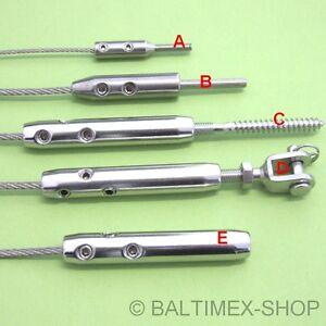 Tensor para cable de acero inoxidable a4 inox ajustador - Tensores de acero ...