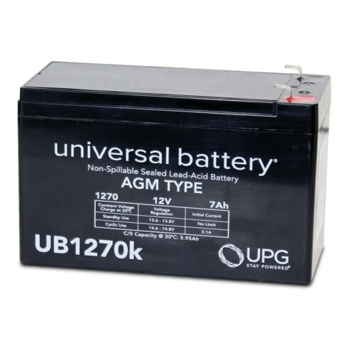 NEW UPG UB1270 12V 7AH Replacement Battery ADT Ademco Lynx A