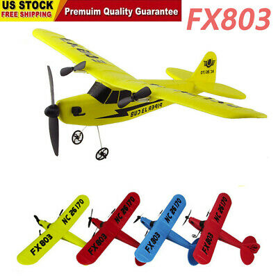 2CH 2.4G RC Helicopter Remote Control Plane Glider Airplane Durable EPP Foam Toy - Toy Glider