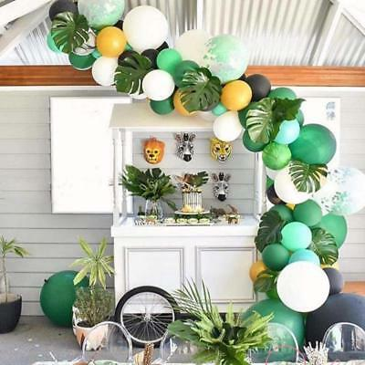 Wedding Party Decorations Summer Party Supplies Palm Leaves Jungle Beach Balloon