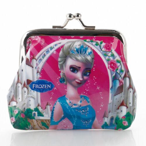 Purse Geldbörse Geldbeutel Handtasche für Gedruckt Disney Elsa Frozen Geschenk