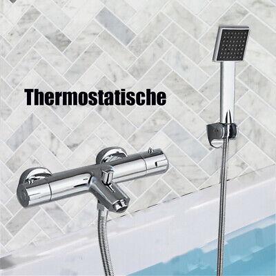 Set de ducha termostática Grifo de ducha mano Sistema de ducha Luminaria...