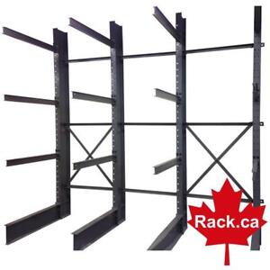 Cantilever racking for sale - we stock - ready for quick ship or pick up