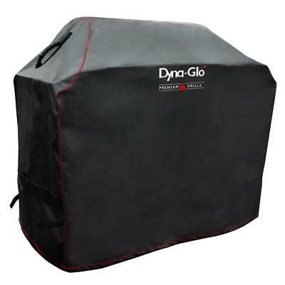 Premium Grill Cover For 5 Burner Grills Waterproof Heavy Duty PVC Mesh Side Vent