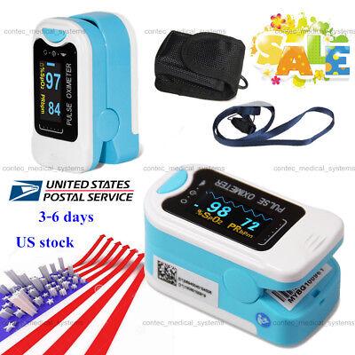 Usa Oled Fingertip Pulse Oximeter Spo2 Pr Blood Oxygen Monitor Heart Rate Tester