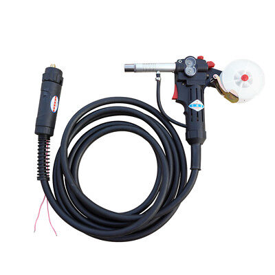 16ft Mig Spool Gun Push Pull Feeder Aluminum Welding Torch With 5m Cable