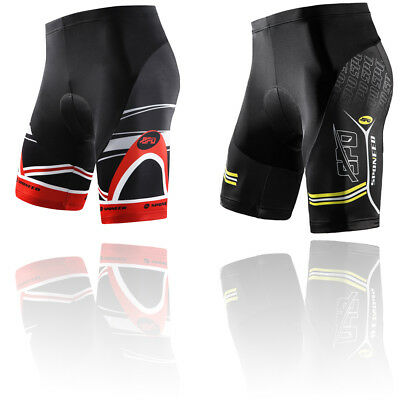 Mens Best Cycle Shorts 4D Gel Padded Bicycle Tights 1/2 Pants Breathable