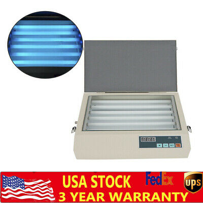 New 2020 10.2x8.3 Desktop Drawer Uv Exposure Unit Stamping And Pad Printing