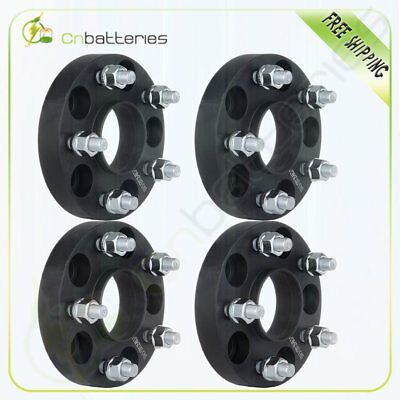 """4X 25mm (1"""") 5x4.5 Hubcentric Wheel Spacers For Nissan 300SX 350Z Infiniti G35"""