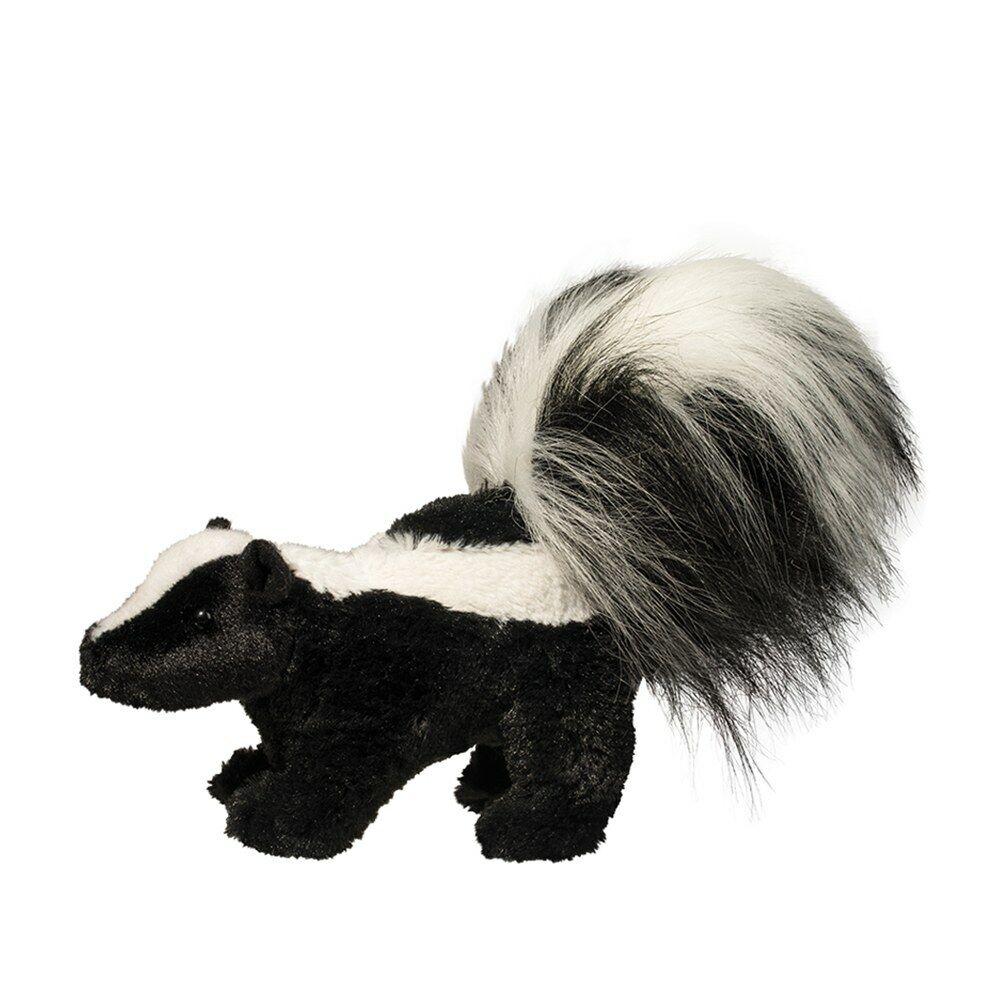 NWT 8 Inch Striper Plush Skunk, Stuffed Skunk, Toy Skunk by
