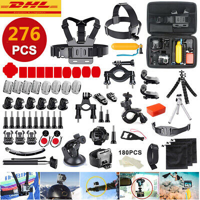 276 in 1 Action Kamera Zubehör Für GOPRO HERO 8 7 6 5 4 3+ 2 SJCAM SONY SESSION
